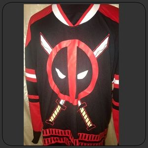 DeadPool Jersey Size LARGE- NEW!!!